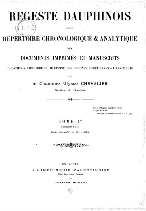 regeste-dauphinois